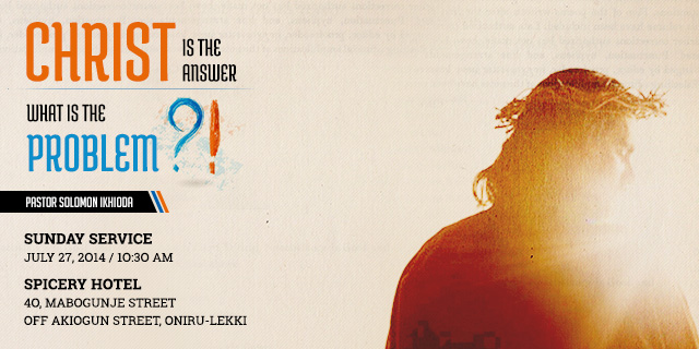 Christ is the Answer - Website Header